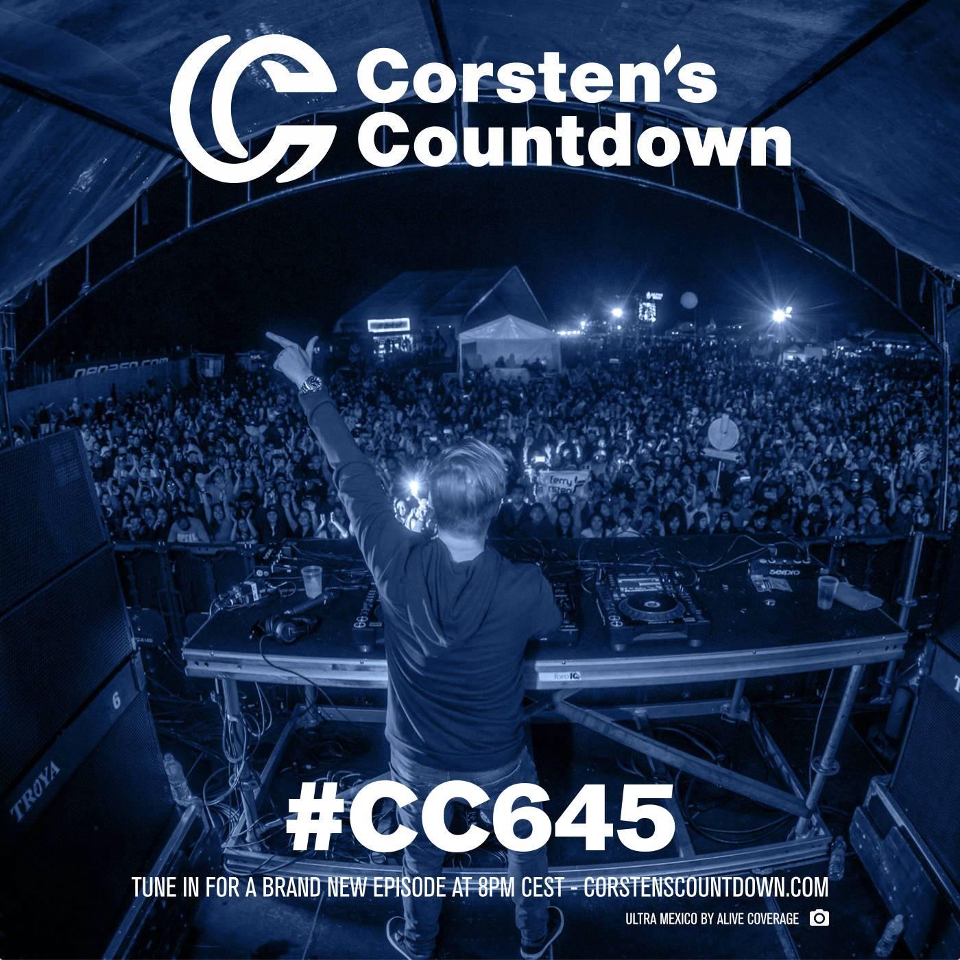 Ferry Corsten — Corsten's Countdown #645