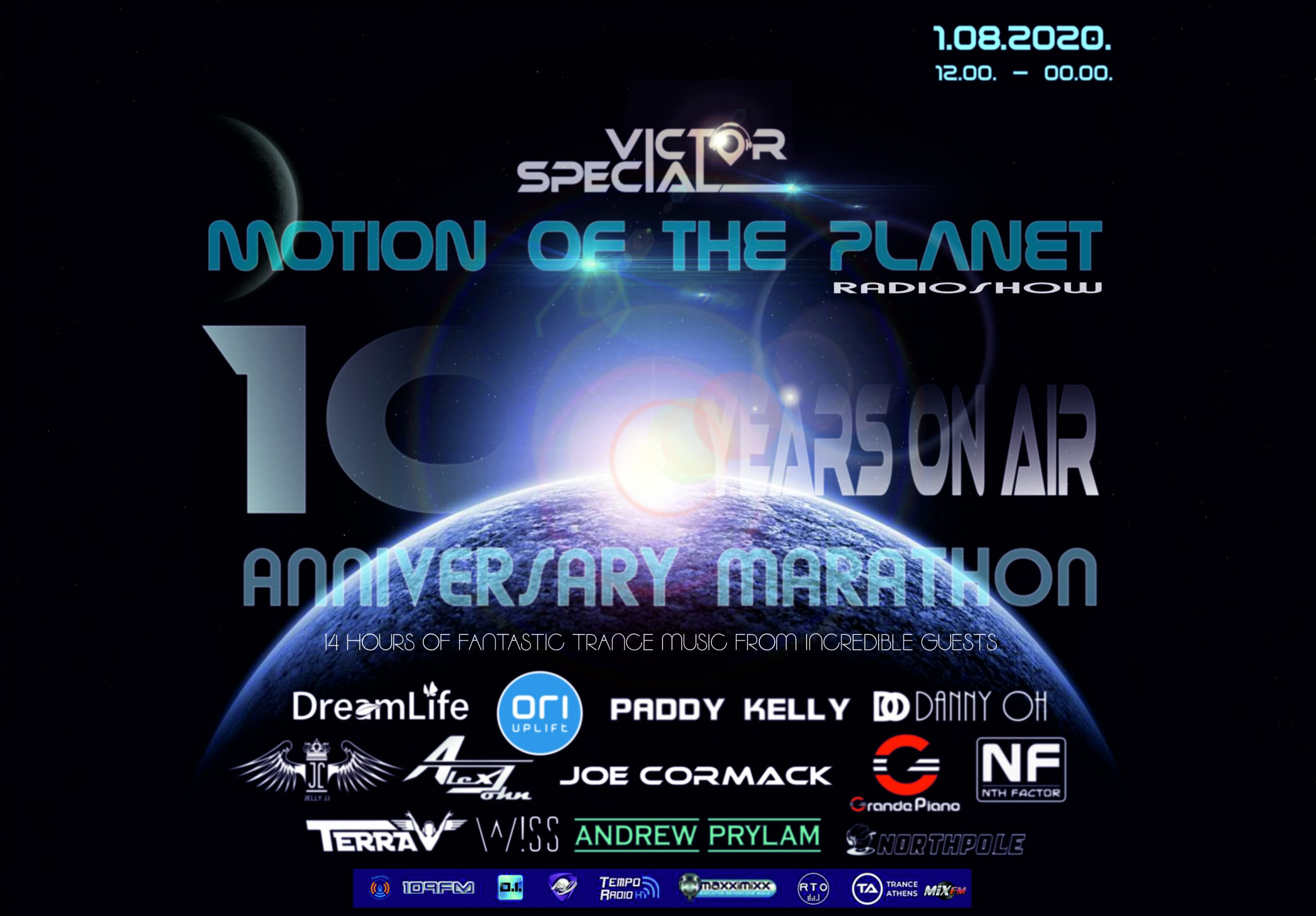 Victor Special — Motion of the Planet — 10 Years