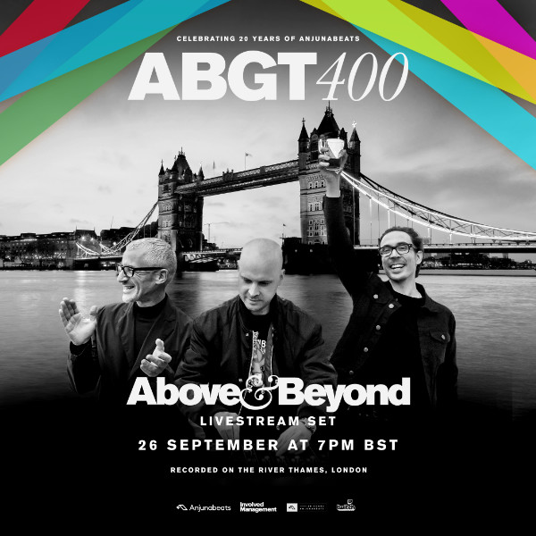 Above & Beyond — Group Therapy #400 — Live Broadcasting