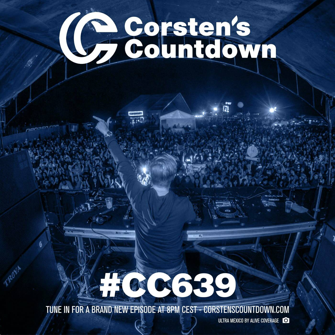 Ferry Corsten — Corsten's Countdown #639
